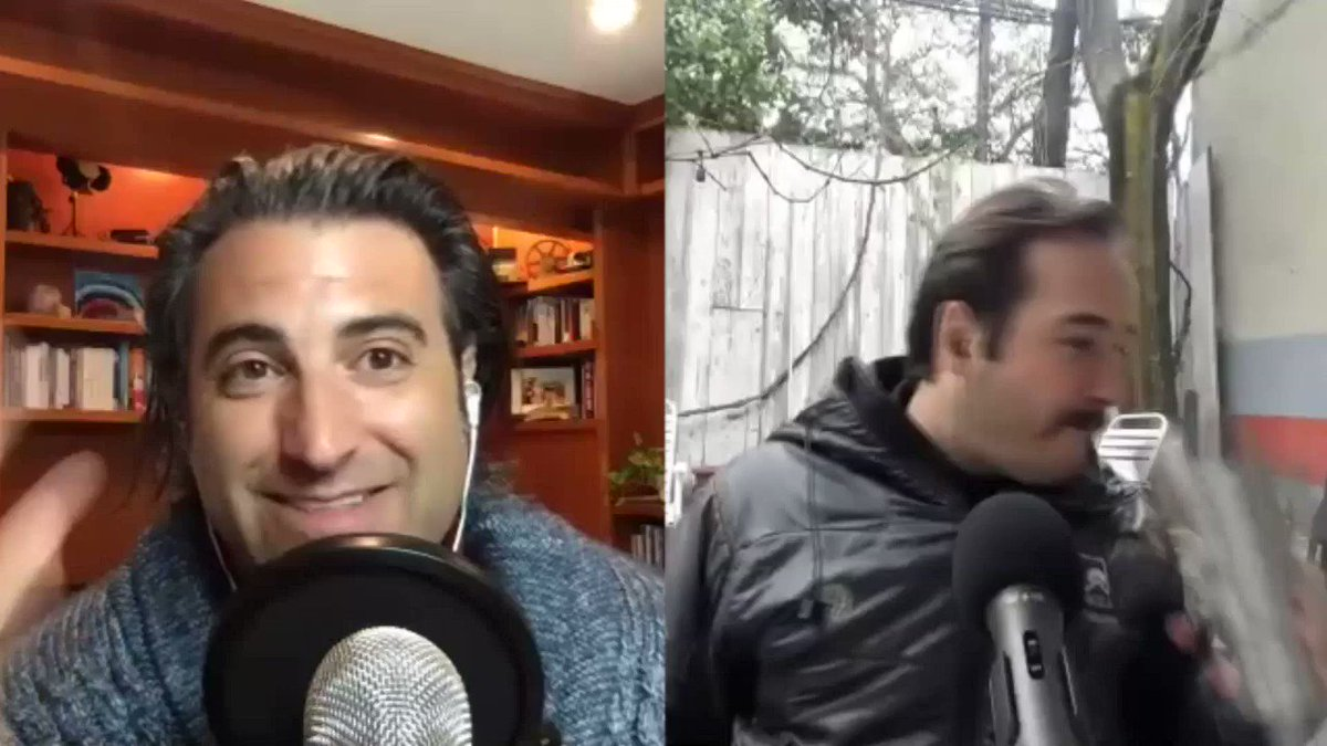 #FBF when a rainstorm crashed my podcast interview with Chris Schembra.   His reaction is PRICELESS...click here to see it all go down --->