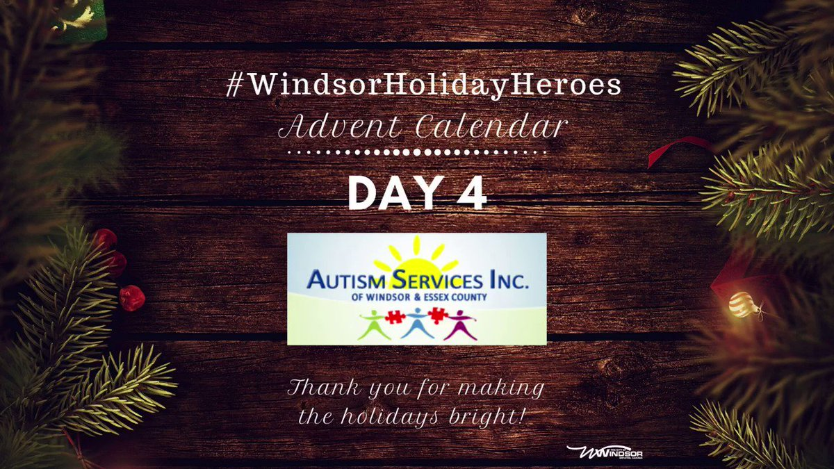 Image for the Tweet beginning: Autism Services Inc. of Windsor