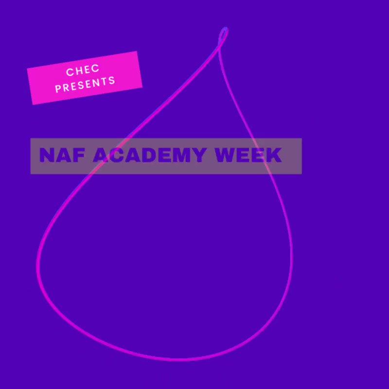 Image for the Tweet beginning: CHEC NAF Academy Week |