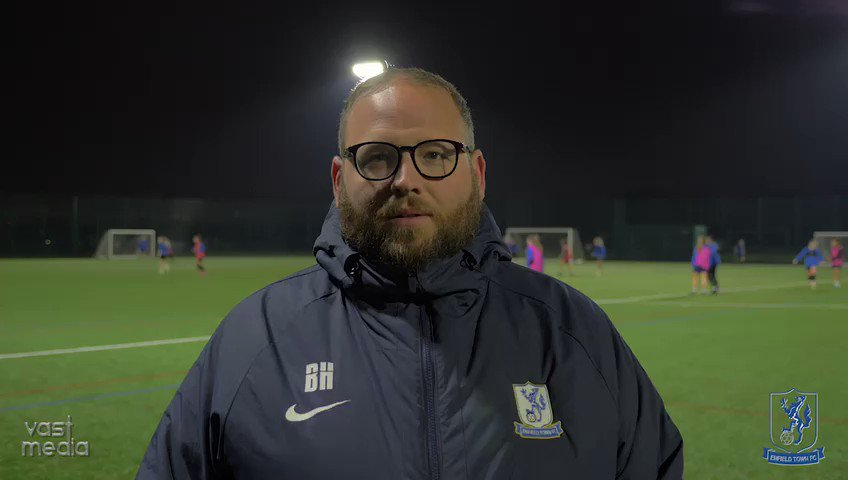 Our First Team Manager Billy Highton talks @vastmediauk looking forward to returning to action @VitalityWFACup away @LTLFC_Official and Praising Sports Therapist @mccuskerxx for getting injured players back fit during #lockdown   #selectionheadache