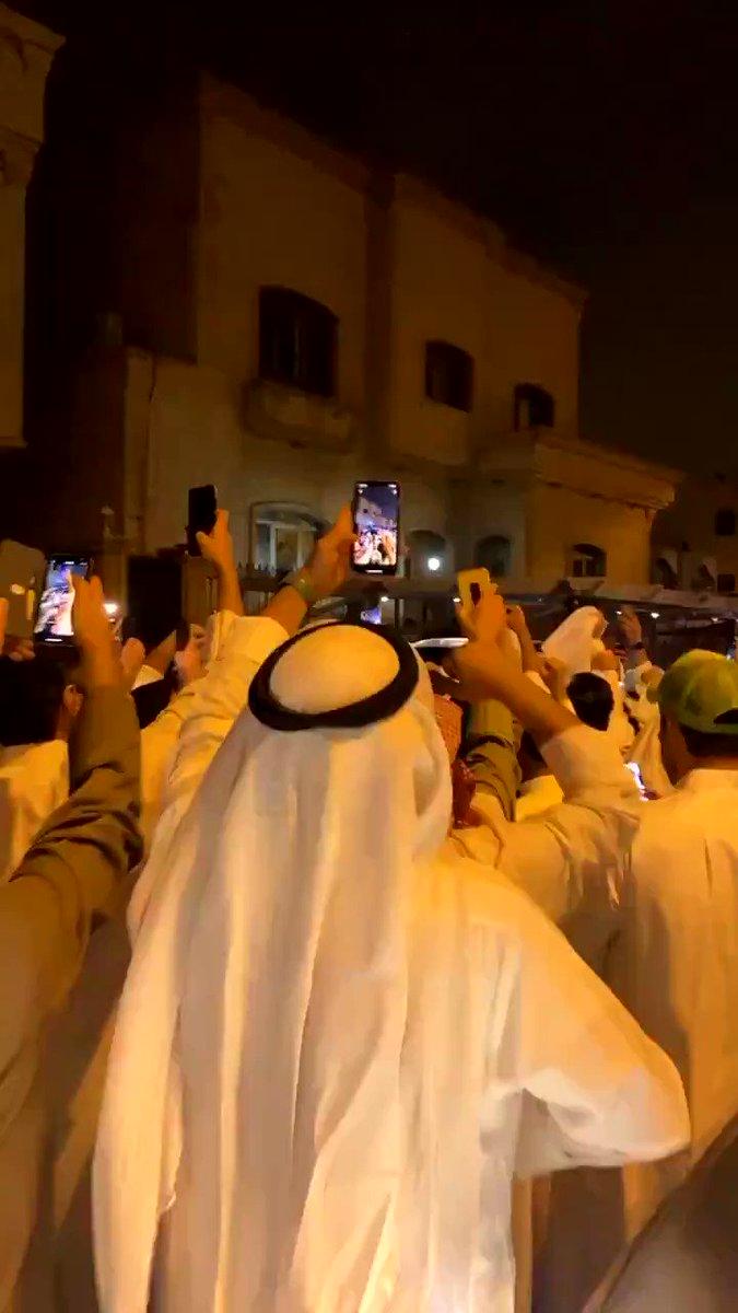 #فيديو| الاحتفال بفوز مهند الساير بمقعد مجلس الامة 2020 عن الدائرة الثالثة.