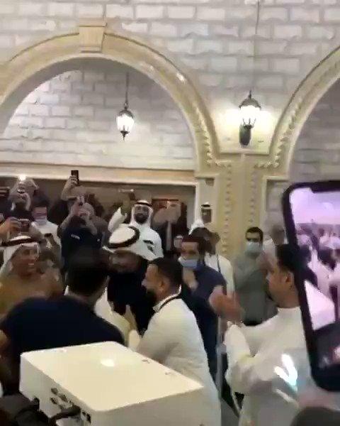 #فيديو || احتفال مبكر بفوز #علي_القطان بمقعد عن الدائرة #الأولى في #مجلس_الأمة_2020. #امة2020