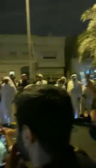 #فيديو| احتفالات بفوز «مهند الساير» بـ #انتخابات_مجلس_الأمة_2020  @MuhannadAlSayer #أمة_2020
