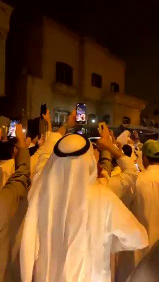 #الكويت| #فيديو.. الاحتفال بفوز #مهند_الساير بمقعد #مجلس_الأمة_2020 عن الدائرة #الثالثة.