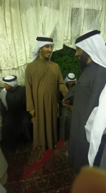 #فيديو| #بدر_الداهوم يواصل تلقي التهاني في مقره