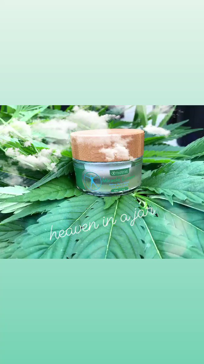 Nourishing and refreshing your skin is an incredibly important part of your overall health and well-being. Clear Safe Lab's Miracle Cream delivers a power-combination of CBD and Fenugreek that may help heal and soothe.  #beauty #beautybloggers