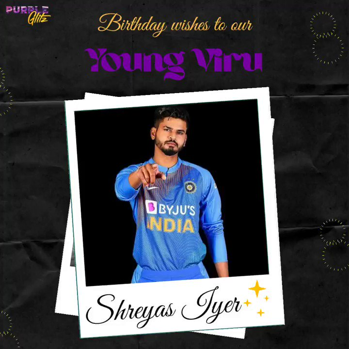 Just another day of Shreyas Iyer setting fire in his fan`s hearts. Happy birthday Young Viru!🎉 . . . . . . . . . #HappyBirthdayShreyasIyer #ShreyasIyer #IndianCricketTeam #TeamIndia #CelebrityBirthdays #SoundOfChampions #TeamBharatPe #BharatSwipe #BharatPe #bharatpeindia