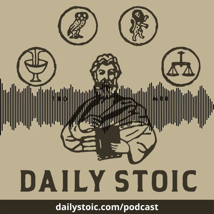 On the @dailystoic podcast, I spoke with pop superstar @Camila_Cabello about how we have the power to decide our responses and reactions.  Hear the rest here:   Subscribe now! Apple:  Spotify: