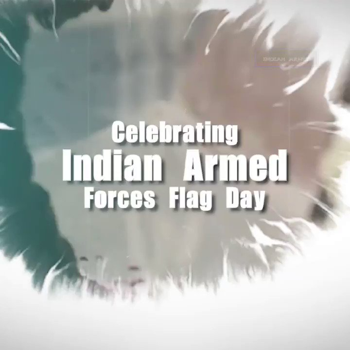 Today and infact every single day, the nation remembers the gallant heroes who sacrificetheir lives to safeguard our motherland. Jai Hind #ArmedForcesFlagDay2020  @Atmojoarjalojo @Irshad_Kamil @ZeeMusicCompany