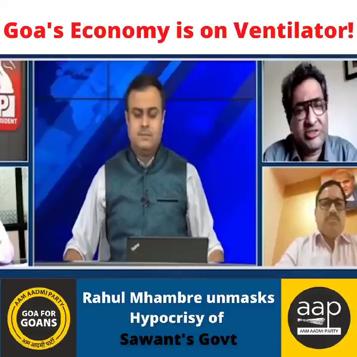 Economy of Goa into doldrums.  They borrow ₹200 crore every month.  Still no sight of austerity measures with two Deputy CMs  besides a CM who is clueless.  Only God can save Goa.