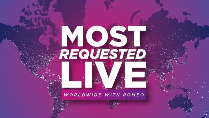 Thanks for listening to #MostRequestedLive w/ @onairromeo this past weekend! Here's the Top 5 Most Requested 🎶 #5 @MileyCyrus & @DUALIPA #Prisoner #4 @BLACKPINK & @iamcardib #BetYouWanna #3 @Harry_Styles #Golden #2 @ShawnMendes & @justinbieber #Monster #1 @bts_bighit #LifeGoesOn