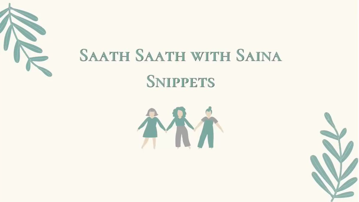 Saath Saath with Saina: Benefit of using an affirmative approach in a negative situation is highlighted.  @SainaBharucha @thekiranbedi @NavjyotiIF  #saathsaathwithsaina #AffirmativeAction #negativetopositive #SpreadPosivity #share #care #sensitize #youareloved #YouAreNotAlone