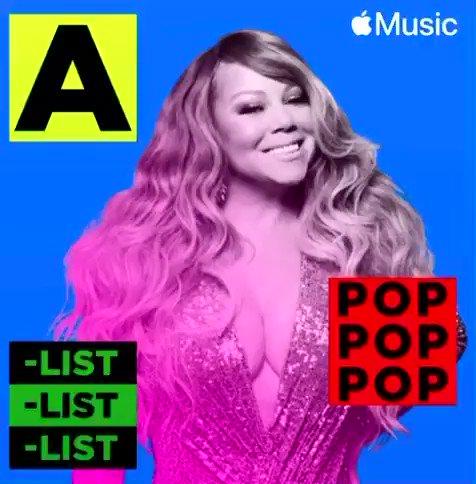 "Listen to @MariahCarey's ""Oh Santa!"" ft. Ariana Grande & Jennifer Hudson on the #AListPop playlist on @AppleMusic:"