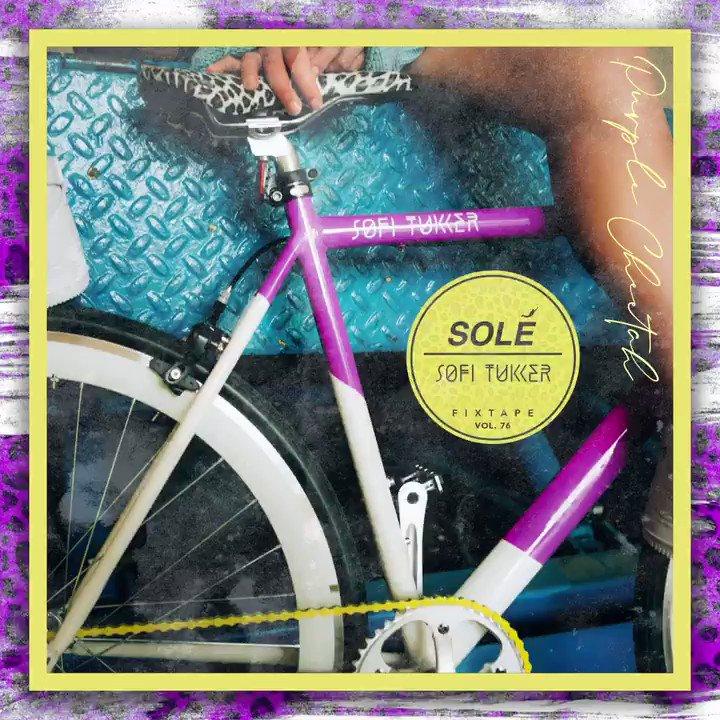 Solé Bicycles Proudly Presents Fixtape Vol. 76 @sofitukker  💜🐆 • Listen here:  • #SoleBicycles #fixtape #sofitukker #music #edm #mix #ridingmusic #purplehat #purpleCheetah #AboveTheBars #Getoutsideandride #RideOn #Bicycle #bicycle #bike #cycling