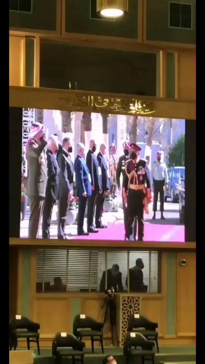 جلالة الملك عبدالله الثاني يفتتح الدورة غير العادية لمجلس الأمة التاسع عشر  #خطاب_العرش #الأردن #SFTT2020
