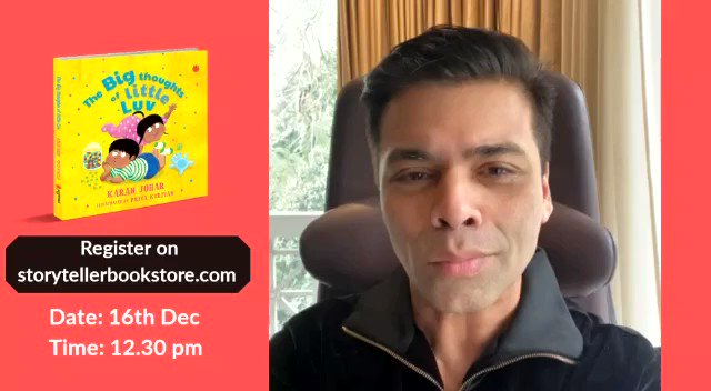#5DaysToGo for the online launch of my new children's book #TheBigThoughtsOfLittleLuv with  @juggernautbooks @Kidsstoppress @StorytellerKol @GurgaonMoms @sippingthoughts See you all virtually, and don't forget the first 100 to register will get a signed copy of the book!