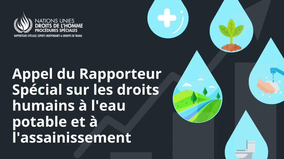 Entrée de l'eau en bourse : Retrouvez l'appel du Rapporteur spécial des Nations Unies sur le droit à l'eau @SRWatSan #LEauEstUnDroit https://t.co/cohVlgEvWt