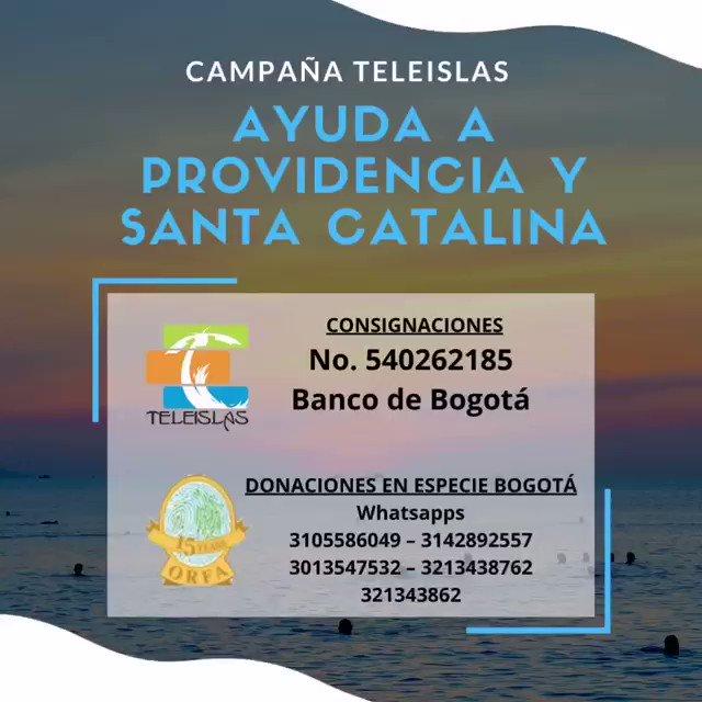 🚨🙏 Campaña TELEISLAS ayuda a Providencia y Santa Catalina. #SanAndres #providence #providencia #iota #huracan #hurricane #HuracanIota #SOSSanAndresyProvidencia #SOSProvidencia #SOSSanAndres