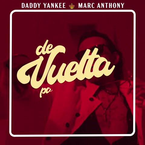 """""""Uno de mis deseos… era grabar una salsa como la de los tiempos de """"La Fania"""". Qué mejor satisfacción para un artista que grabar con alguien que uno escuche y lo tenga en su playlist"""" 10 millones junto a @MarcAnthony #DeVueltaPaLaVuelta"""