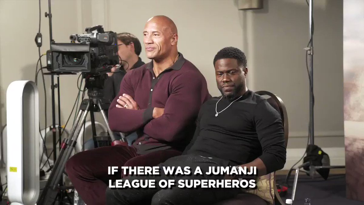 One year later, and we're still laughing. @jumanjimovie @TheRock @KevinHart4real