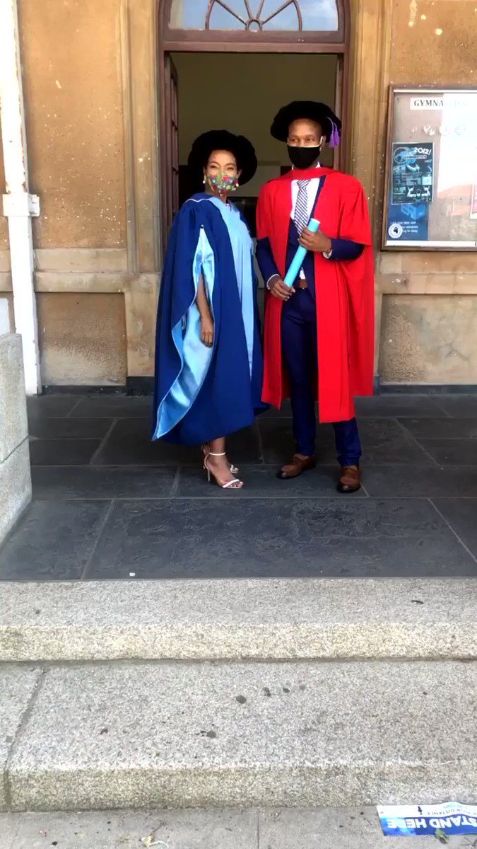 Celebrating with graduates today #UCTgrad2020