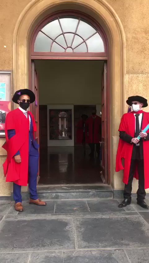 Celebrating UCT doctoral graduates like ... This is #UCTgrad2020