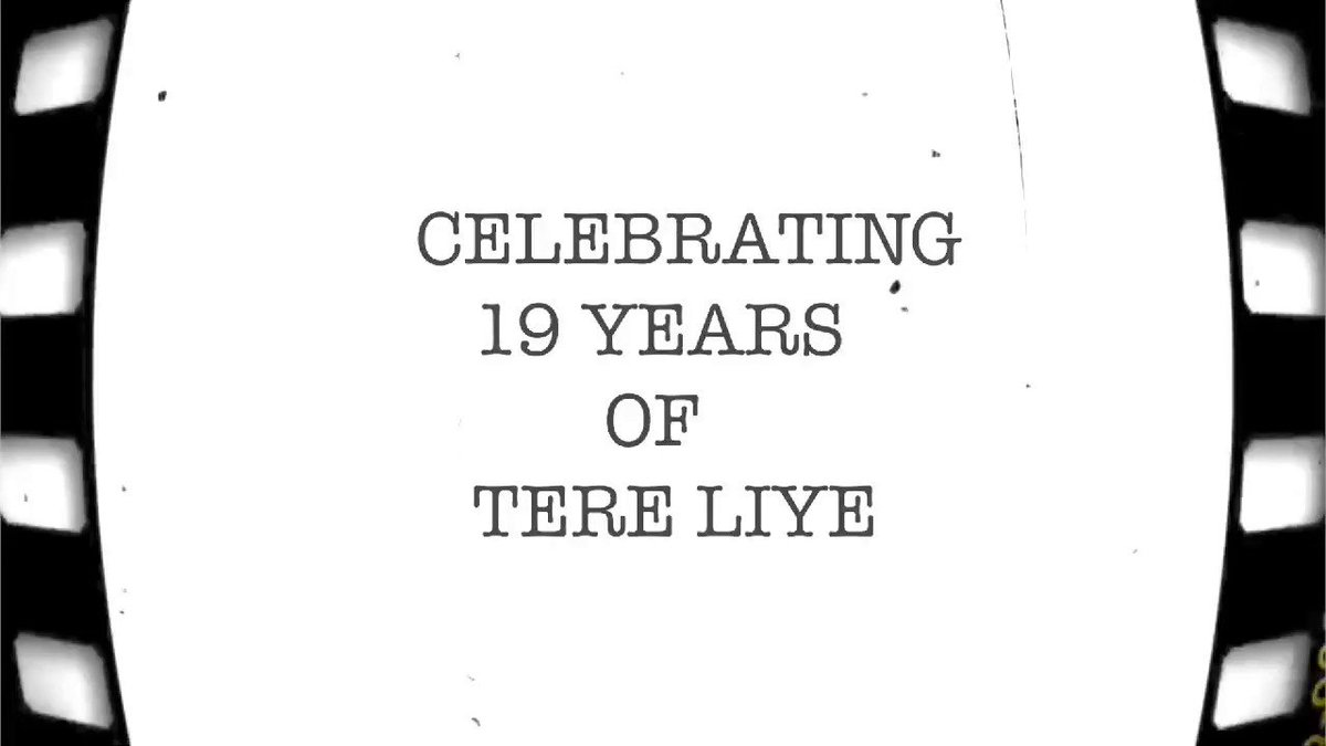 Tere Liye marks the commencement of @jeetmusic and my journey in the industry & holds a special place in our hearts.Thankful to @sanjaygadhvi4 who has been a pillar of support and provided us with our first film & #RajuHirani who introduced us to Sanjay Gadhavi #19YearsOfTereLiye