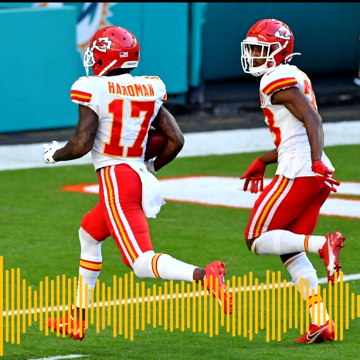Listen to the Chiefs Radio Network Play of the Game against the Miami Dolphins, presented by @Helzberg