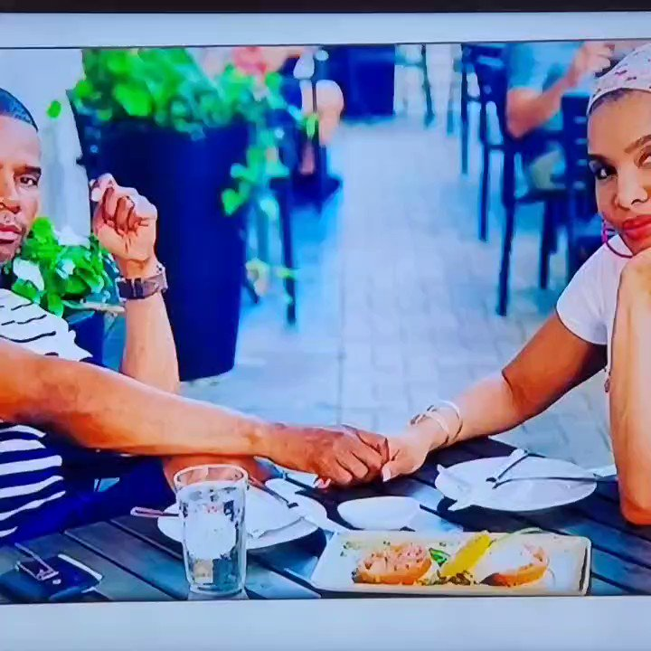 """One of my favorite couples @iamtammyfranklin @kirkfranklin 👩🏿🤝👨🏾 Thanks for sharing your story on @owntv #behindeveryman ❤🎬 Your story gives me hope that oneday out of nowhere, somebody will finally """"see me.""""🦋 #love #story #marriage #kirkfranklin #tammyfranklin #family #own #TV"""