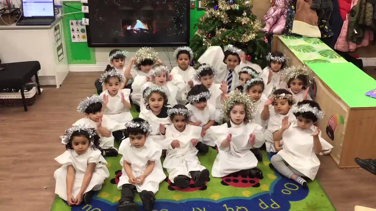 Image for the Tweet beginning: Here's our Angels spreading Christmas