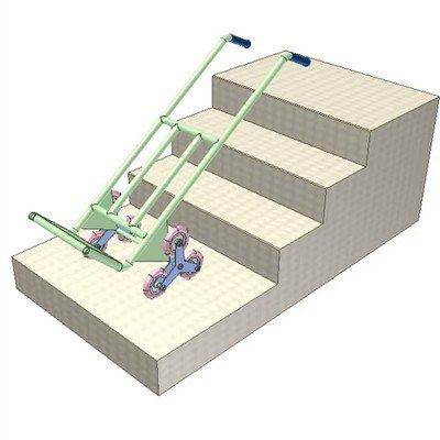Six-Wheeled Stair Climber