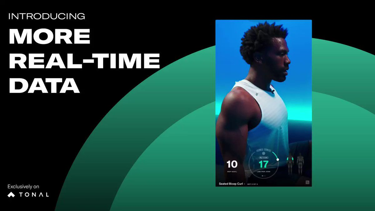 Want to improve a rep or achieve a new goal? Now you can work harder and smarter with more personalized insight in Guided, Custom, and Free Lift workouts on Tonal. Learn more: