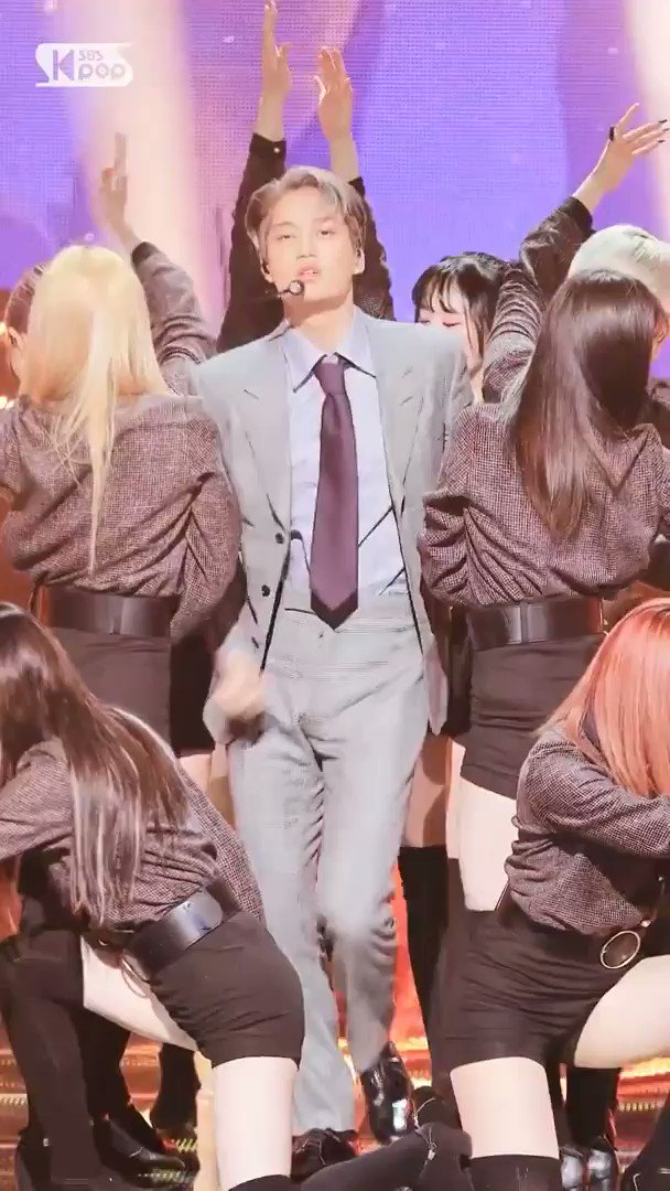 hello, this is #KAI he debuted as a soloist with his self-titled album KAI and title track MMMH. yes this is a kpop fancam, KAI puts the K in KPOP 🤗🐻   #ImpeachBidenNow