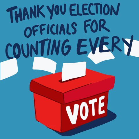 Despite the challenges we faced, voters made their voices heard in record numbers! #ThankYouElectionHeroes for running safe and smooth elections this year.