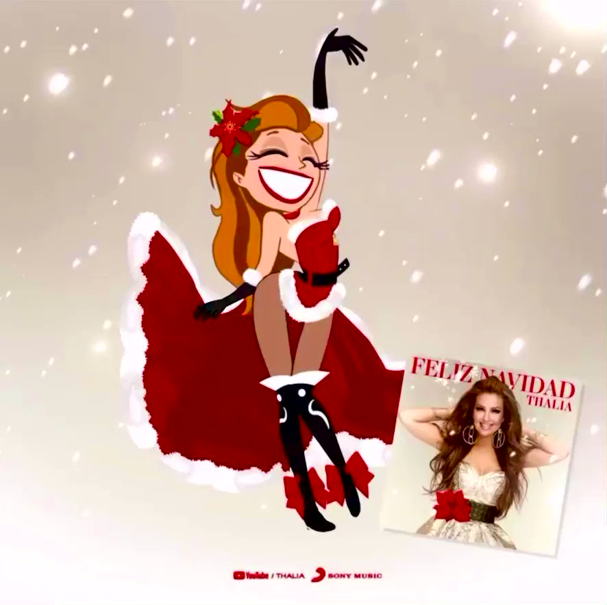 @thalia   ¡Disponible ya! 🎄🎁🎉 #Available now! ➡️ … #FELIZNAVIDAD #THALIAFELIZNAVIDAD #FelizNavidadconThalia @sonymusicmexico