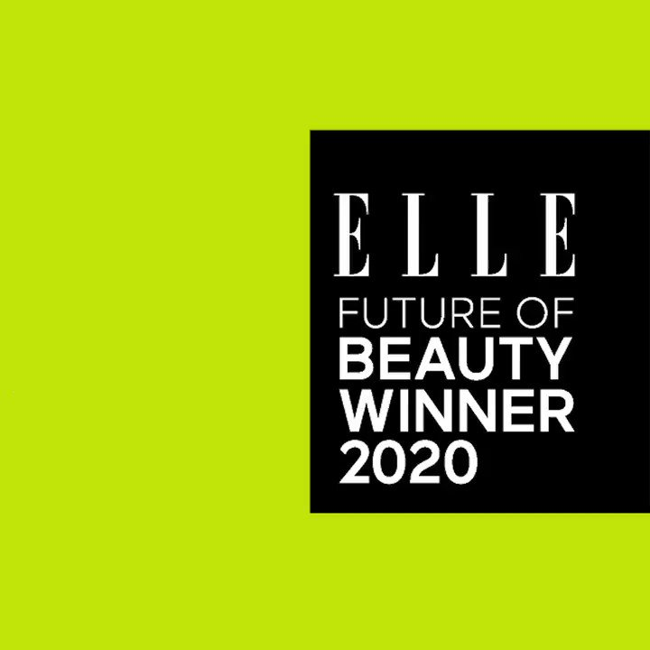 Major news: Our Leave-In Molecular Hair Mask has been chosen for the ELLE Future of Beauty Award, given to only the most exciting innovations in beauty. Thank you @ELLEmagazine for this honor.