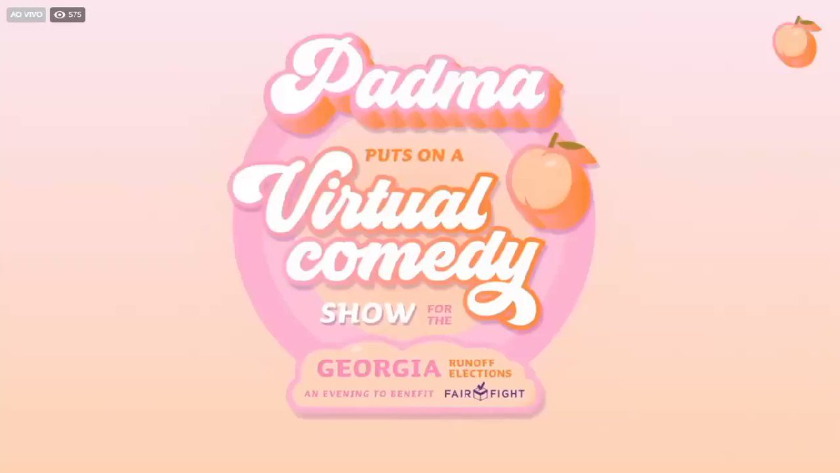 Alicia at Padma's virtual comedy show #aliciakeys #AKFAM #akeys #aliciakeysfans #keyssoulcare @aliciakeys @keyssoulcare @PadmaLakshmi