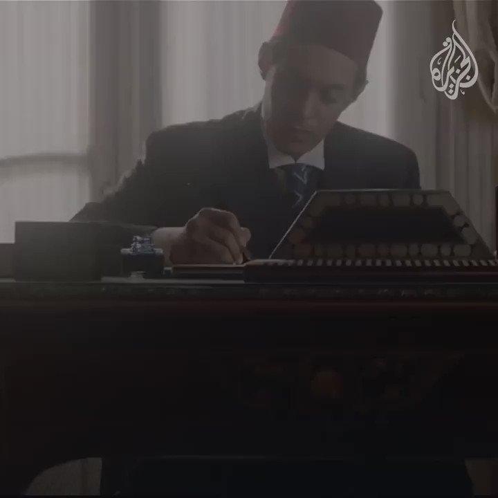 """""""إن الذي ملأ اللغات محاسناً جعل الجمال وسرّه في الضاد""""  اليوم العالمي للغة العربية ✍️ 📖 #تأملات_الجزيرة  @Saleh_mass"""