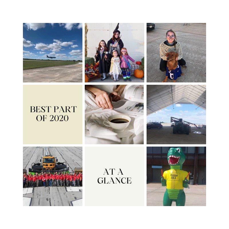 Tweet us the best part of your 2020!  #LNK #FlyLNK #FlySafe #FlyLocal