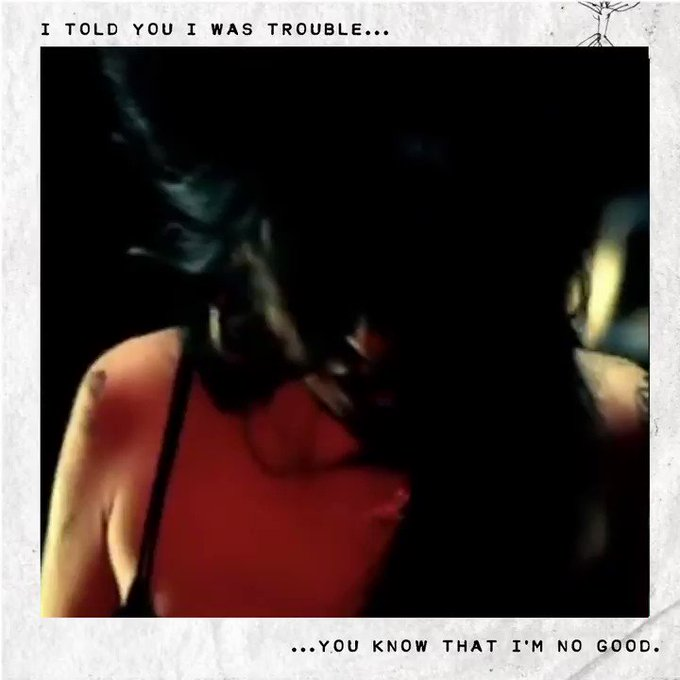 15 years ago, Amy released 'You Know I'm No Good' from her second studio album 'Back To Black' 🖤 https://t