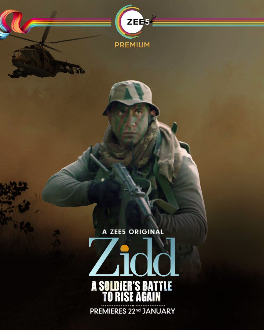 These teaser reviews were only warning shots. #Zidd Trailer is coming soon. #JeetKiZidd