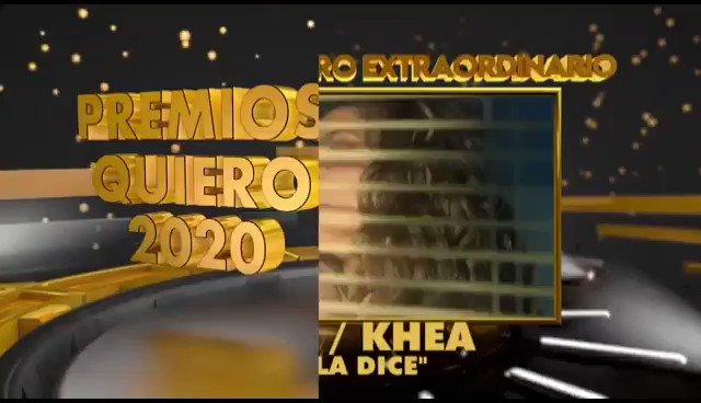 [#PremiosQUIERO2020] @TiniStoessel fue la Artista que más Triunfo ya que gano 3 Premios (Encuentro Extraordinario por #EllaDice, MV Pop del año por #YaNoMeLlames y MV de Art. Fem. del año por #HighRMX) | Asi agradecio los Reconocimientos junto a @OvyOnTheDrums y @MariaBecerra22