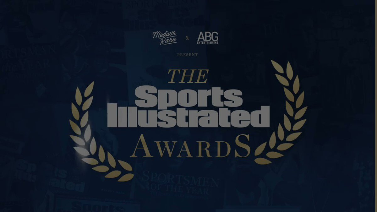 Thank you so much to everyone who tuned in last night for the SInow Awards and congratulations to all of the athletes and teams who won awards. You inspire us to be our best and make the world a better place.
