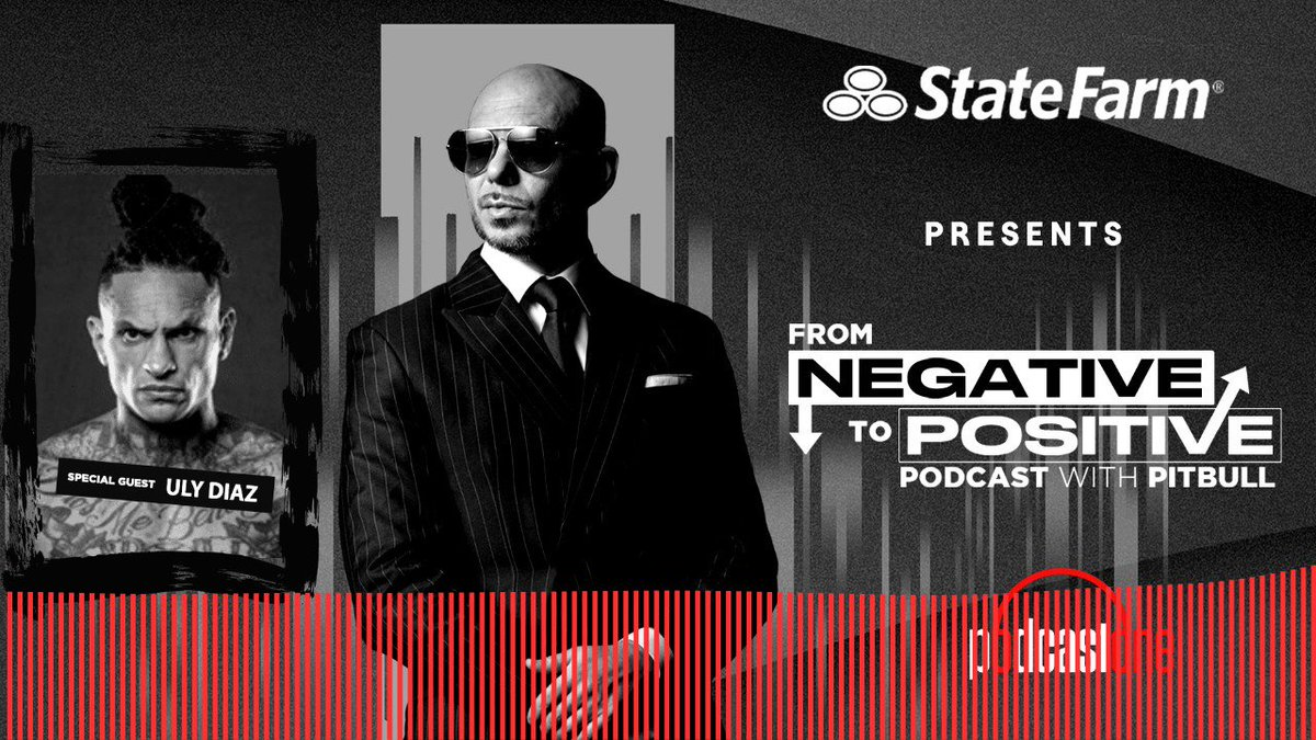 "Honored to have sat down with my good friend, @Uly_MONSTER on the new podcast ""From Negative To Positive."" Check out a clip from the show brought to you by the good neighbors at @statefarm. Listen to the whole episode here:  Dale! #negativetopositive"