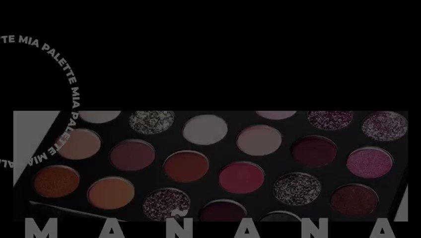 MAÑANA #MIAPALETTE 💕 venta exclusiva por Mercado Libre México 11:11 am✨ #anmakeup1111 #BecomeYourDream . . . . . #makeuplovers #makeupartists #makeupdreamers #makeup #eyeshadows