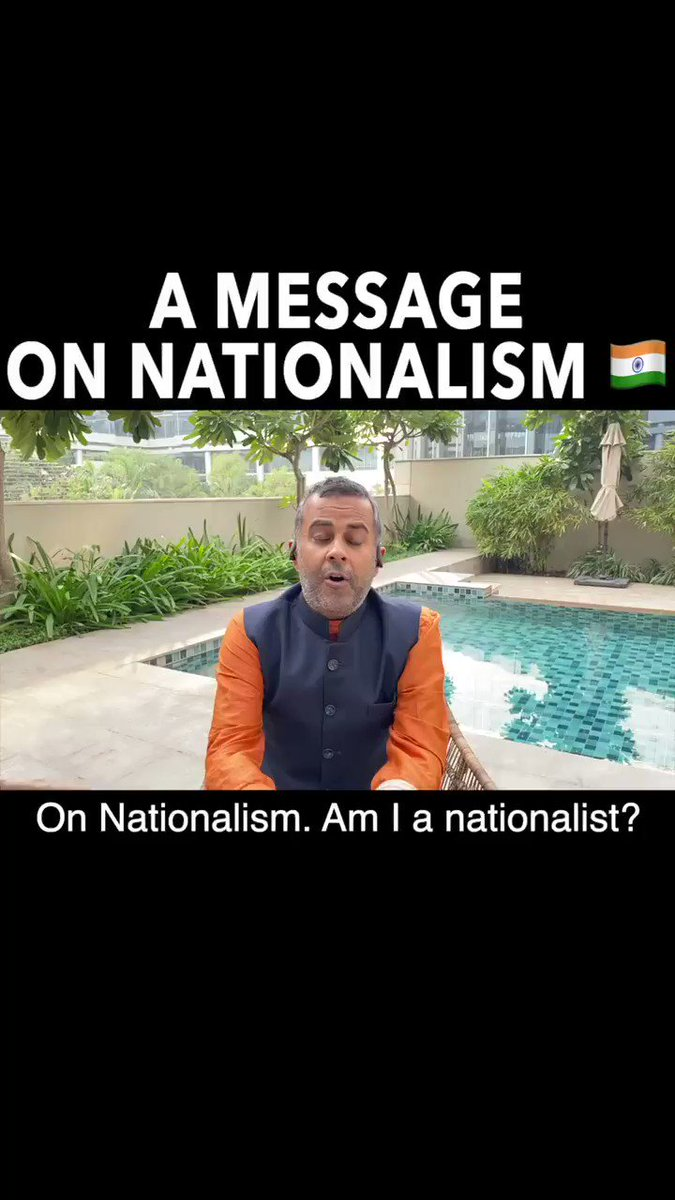 What is to be a nationalist? I want our country to be as rich as other countries are. Using my platform to bring peace and focus on the right direction🇮🇳 My take on nationalism: part 1