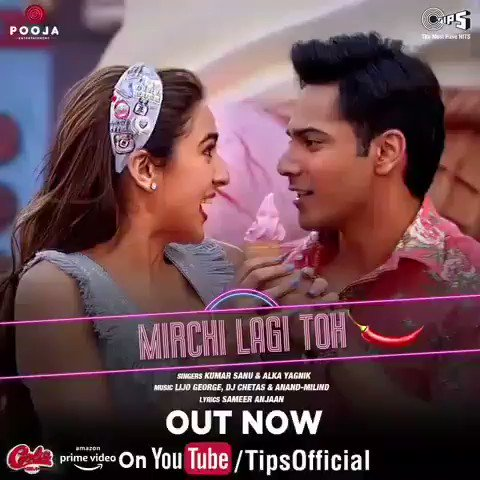 #MirchiLagiToh 🌶️new song out new 🎉🎊 #CoolieNo1 #CoolieNo1OnPrime #excitedforcoolieno1 #VarunDhawan #SaraAliKhan #DividDhawan sir #jackybhagnani @Varun_dvn @tipsofficial @poojafilms @PrimeVideoIN