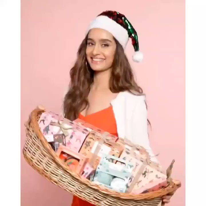 Reposted from @TheBodyShopIND Guess who's super excited for Christmas? It's our #LadyLove, @ShraddhaKapoor  #Shraddhakapoor #Thebodyshopindia