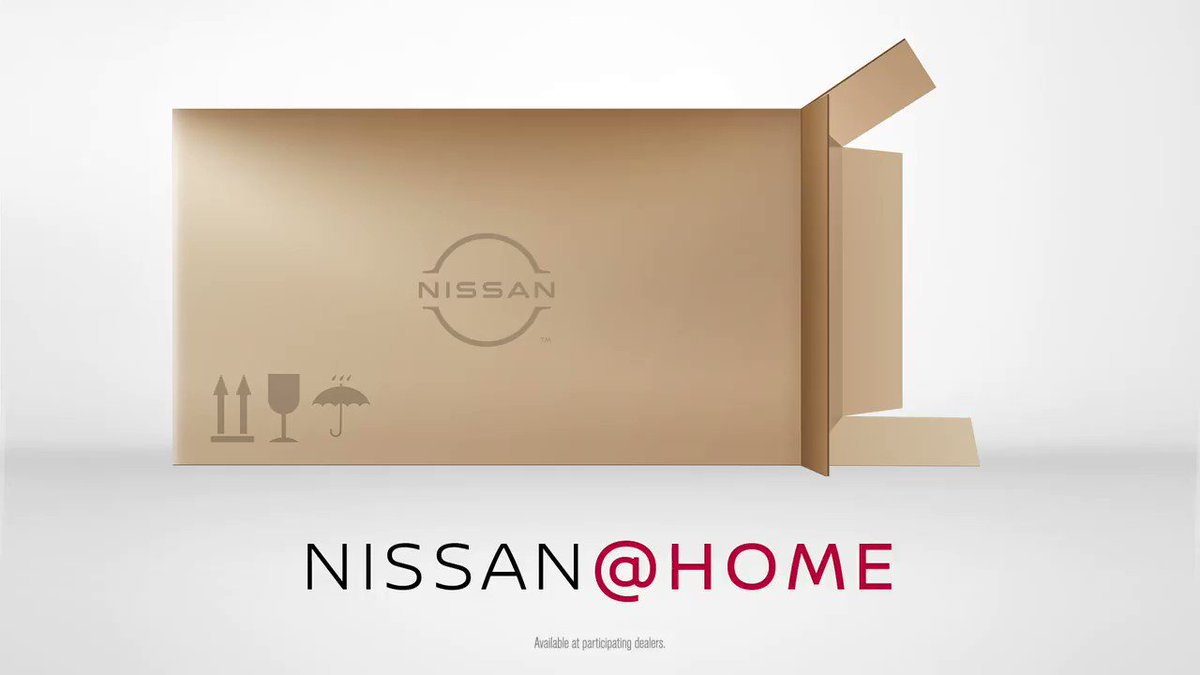 Getting into your new #Nissan is about to be easier than ever. With Nissan@Home, go from shopping to buying your Nissan vehicle from the comfort of your home.  Learn more about Nissan@Home: