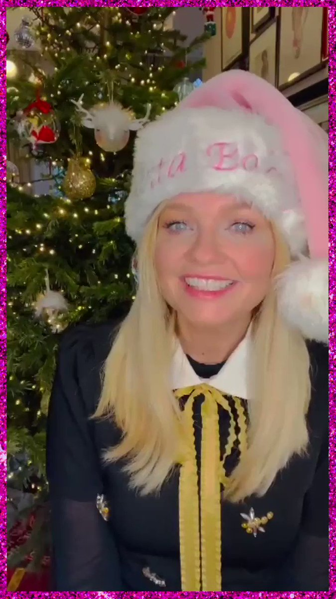 Christmas wishes from @EmmaBunton 💕